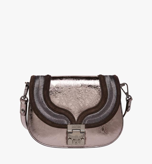 Trisha Shoulder Bag in Metallic Leather