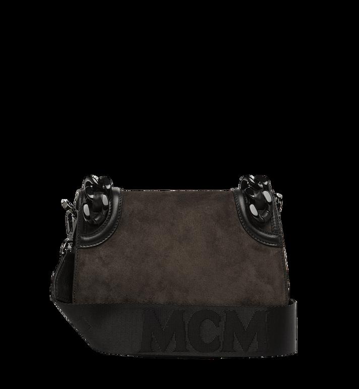 MCM Trisha Chain Shoulder Bag in Suede MWS8ATS21EP001 AlternateView4