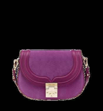 MCM Trisha Shoulder Bag in Suede MWS8ATS94UK001 AlternateView