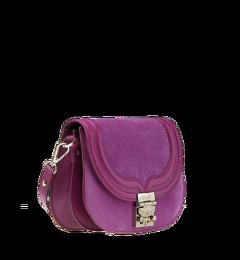 MCM Trisha Shoulder Bag in Suede MWS8ATS94UK001 AlternateView2