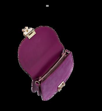 MCM Trisha Shoulder Bag in Suede MWS8ATS94UK001 AlternateView5