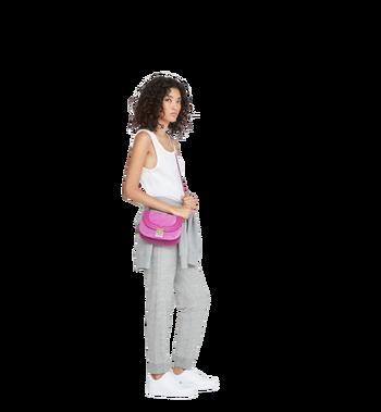 MCM Trisha Shoulder Bag in Suede MWS8ATS94UK001 AlternateView6