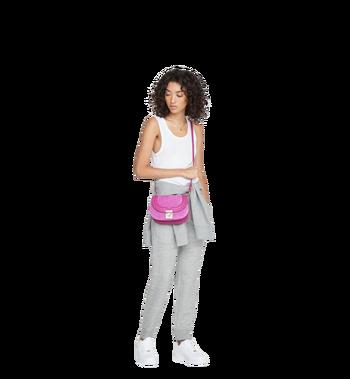 MCM Trisha Shoulder Bag in Suede MWS8ATS94UK001 AlternateView7