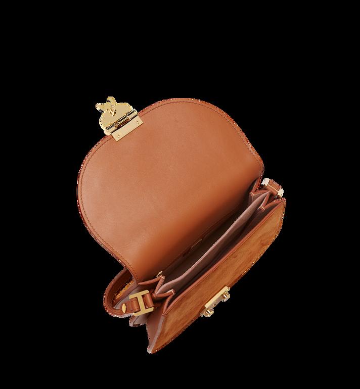 MCM Trisha Shoulder Bag in Suede MWS8STS94CO001 AlternateView5