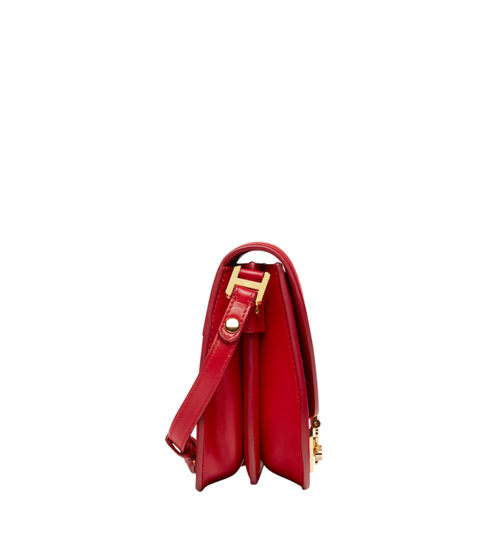 MCM Trisha Shoulder Bag in Suede MWS8STS94RE001 AlternateView3