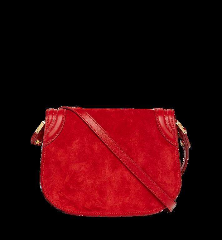MCM Trisha Shoulder Bag in Suede MWS8STS94RE001 AlternateView4