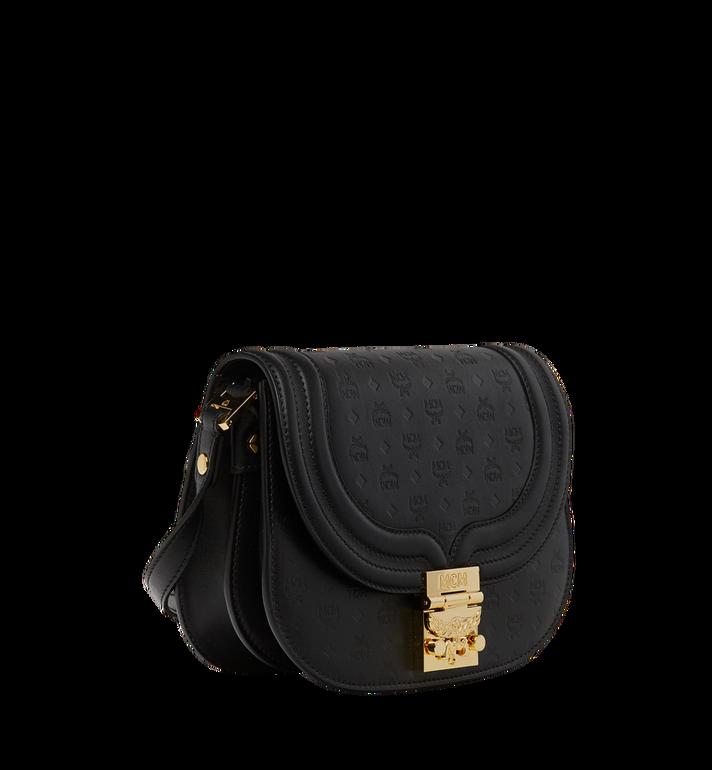 MCM Trisha Shoulder Bag in Monogram Leather MWS8STS95BK001 AlternateView2