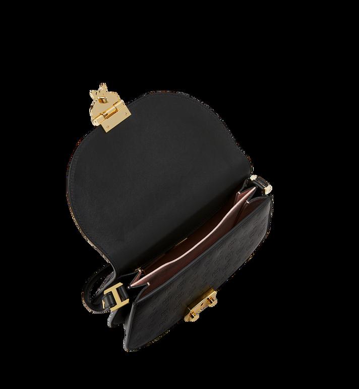MCM Trisha Shoulder Bag in Monogram Leather MWS8STS95BK001 AlternateView5