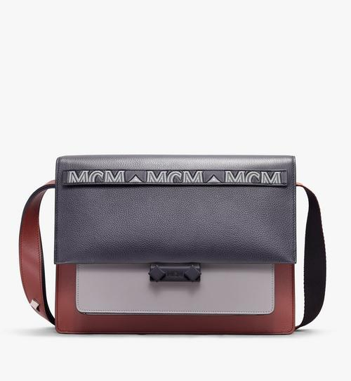 Milano Shoulder Bag in Calfskin Leather