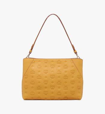 MCM Klara Shoulder Bag in Monogram Leather Alternate View