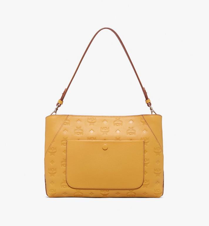 MCM Klara Shoulder Bag in Monogram Leather Alternate View 3