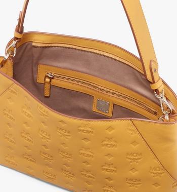 MCM Klara Shoulder Bag in Monogram Leather Alternate View 4