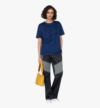 MCM Klara Shoulder Bag in Monogram Leather Alternate View 5