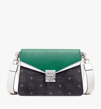 MCM Mezzanin Shoulder Bag in Colorblock Visetos Alternate View