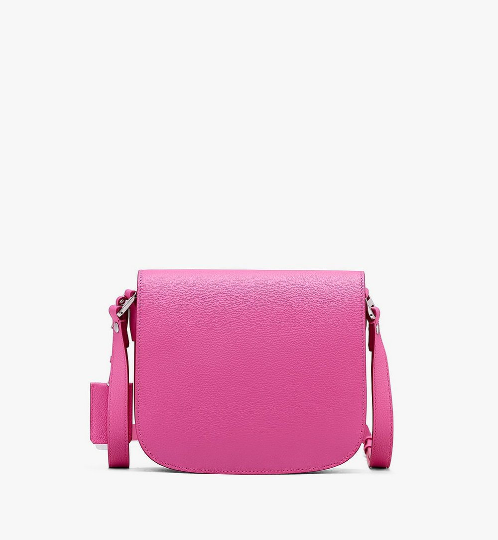 MCM Patricia Shoulder Bag in Park Avenue Leather Pink MWS9APA15QS001 Alternate View 1