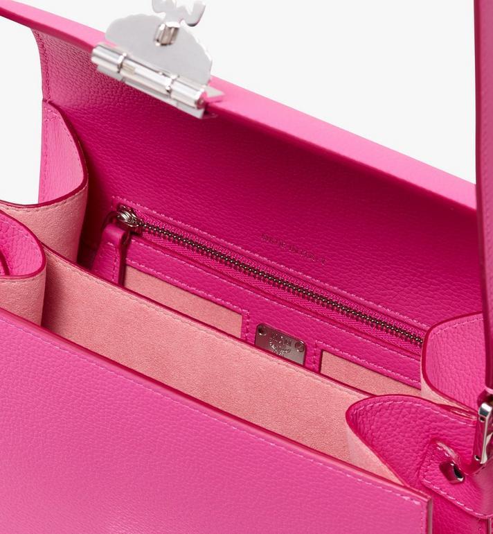 MCM Patricia Shoulder Bag in Park Avenue Leather Pink MWS9APA15QS001 Alternate View 3