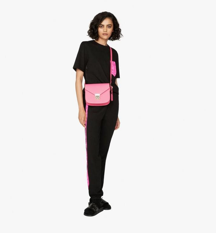 MCM Patricia Shoulder Bag in Park Avenue Leather Pink MWS9APA15QS001 Alternate View 4