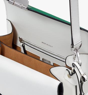 MCM Patricia Shoulder Bag in Color Block Leather Alternate View 4