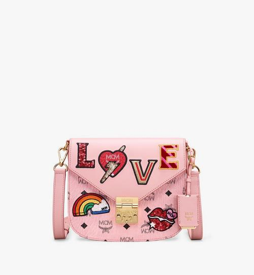 Patricia Shoulder Bag in Love Patch Visetos