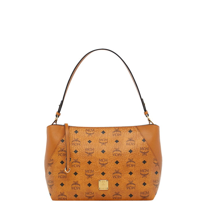 MCM Klara Shoulder Bag in Visetos Alternate View