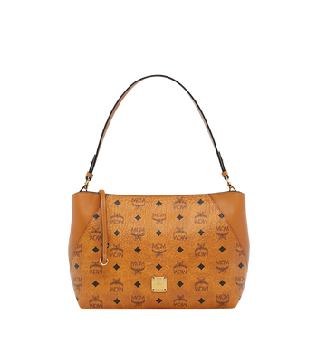 MCM Klara Shoulder Bag in Visetos AlternateView