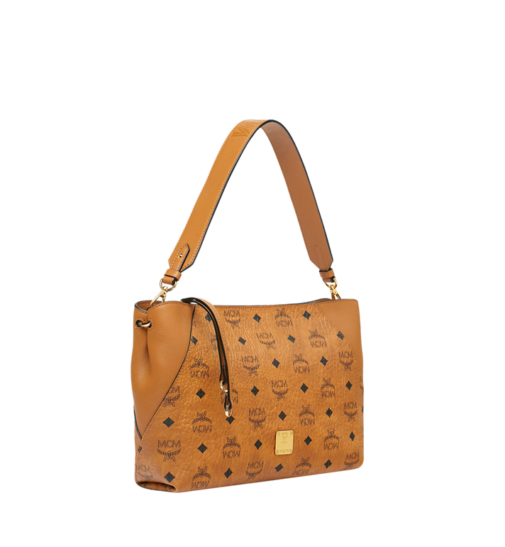 MCM Klara Shoulder Bag in Visetos Alternate View 2