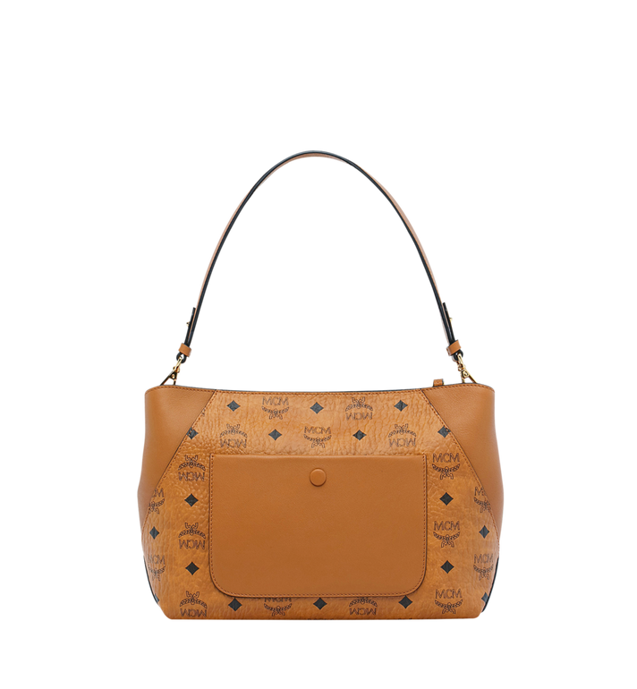 MCM Klara Shoulder Bag in Visetos Alternate View 4