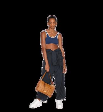 MCM Klara Shoulder Bag in Visetos Alternate View 6