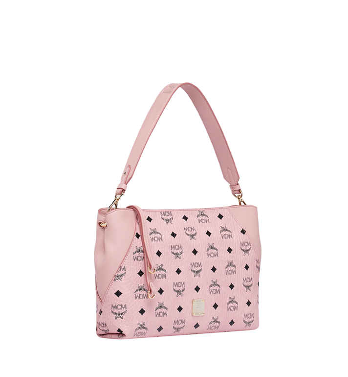 MCM Klara Shoulder Bag in Visetos MWS9SKM69PZ001 AlternateView2