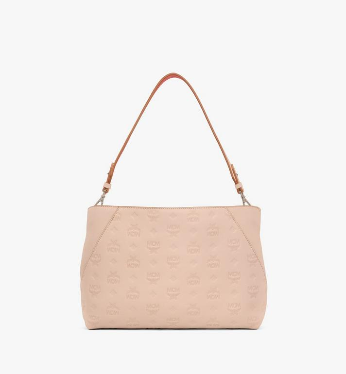 MCM Klara Shoulder Bag in Monogram Leather Alternate View