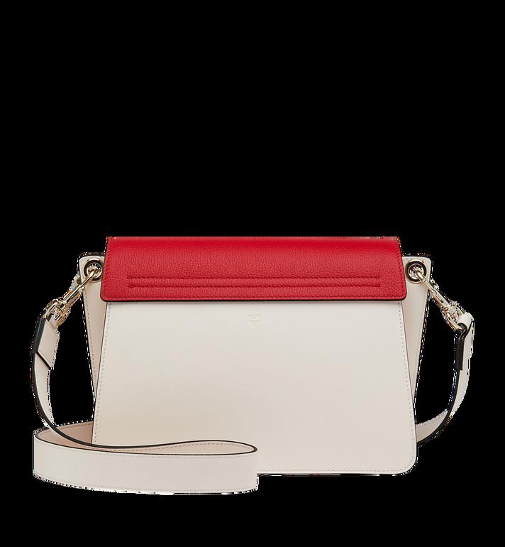 MCM Mezzanin Shoulder Bag in Visetos Leather Block Alternate View 4