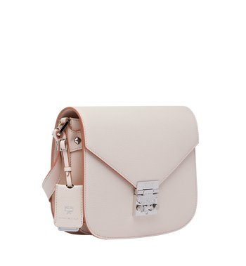 MCM Patricia Shoulder Bag in Grained Leather Alternate View 2