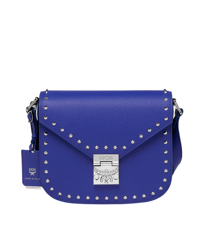 MCM Patricia Shoulder Bag in Studded Outline Leather Alternate View