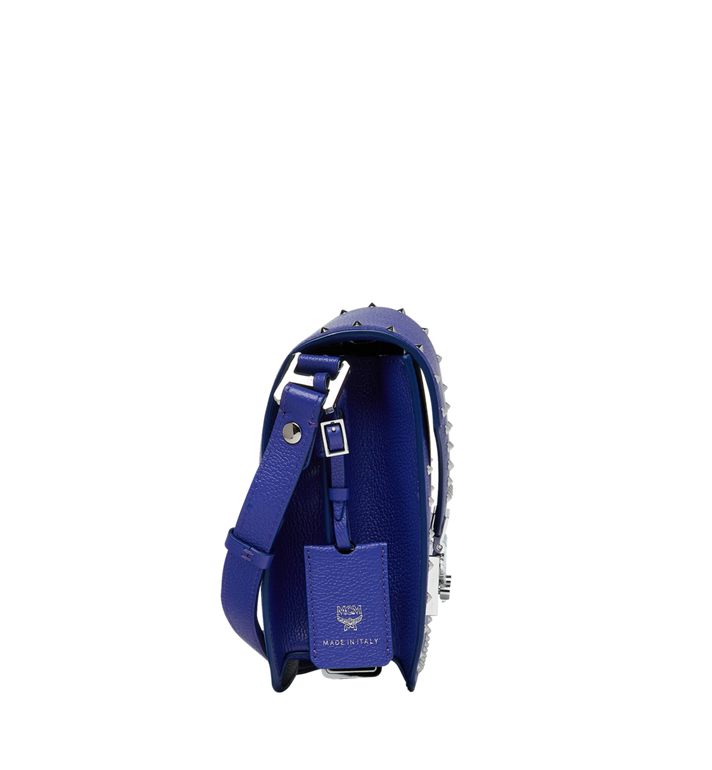 MCM Patricia Shoulder Bag in Studded Outline Leather Alternate View 3