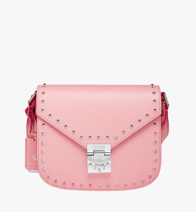 Patricia Shoulder Bag in Studded Outline Leather