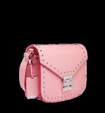 MCM Patricia Shoulder Bag in Studded Outline Leather Alternate View 2