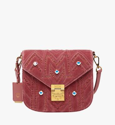 a46dd14943a38 Patricia Schultertasche in Velvet Crystal Studs