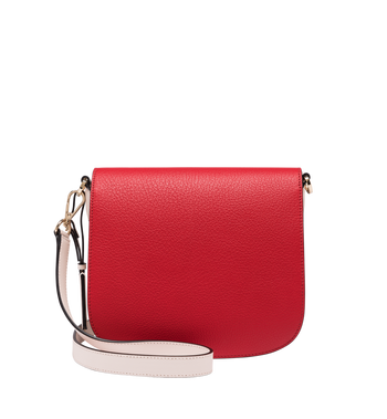 MCM Patricia Shoulder Bag in Visetos Leather Block AlternateView4