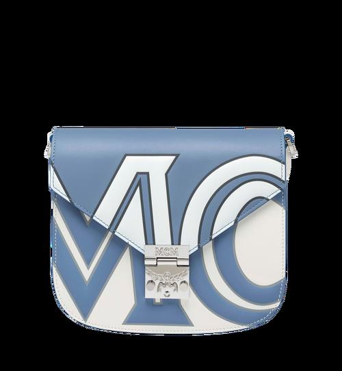 Patricia Shoulder Bag in Contrast Logo Leather