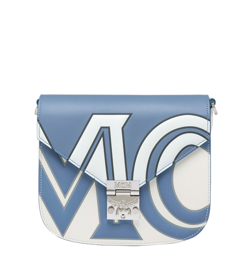 Patricia Shoulder Bag in Contrast Logo Leather