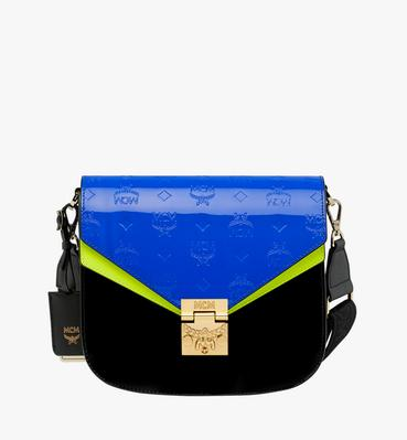 Patricia Shoulder Bag in Monogram Patent Leather