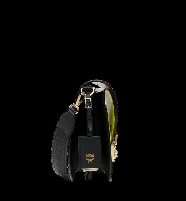 MCM Patricia Shoulder Bag in Monogram Patent Leather AlternateView3