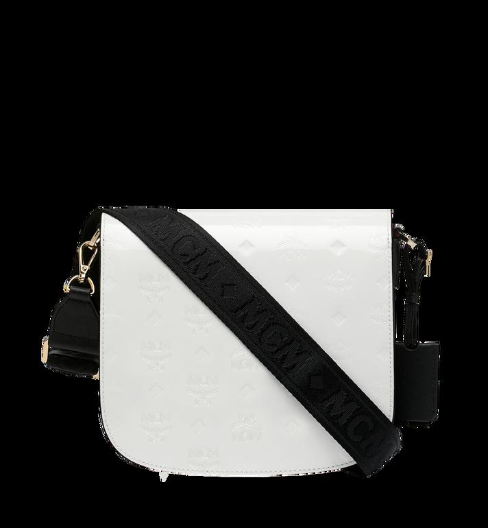 MCM Patricia Shoulder Bag in Monogram Patent Leather AlternateView4