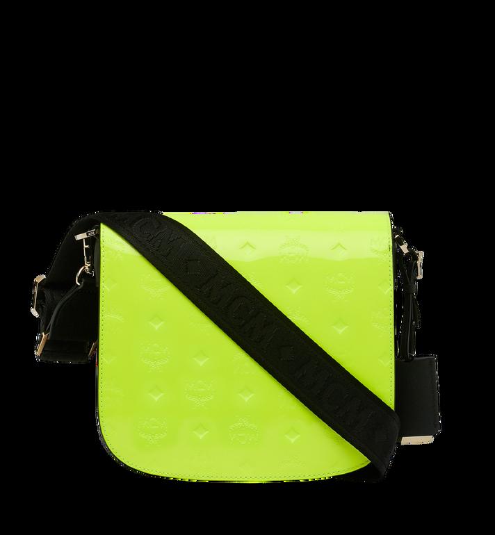 MCM Patricia Shoulder Bag in Monogram Patent Leather Alternate View 4