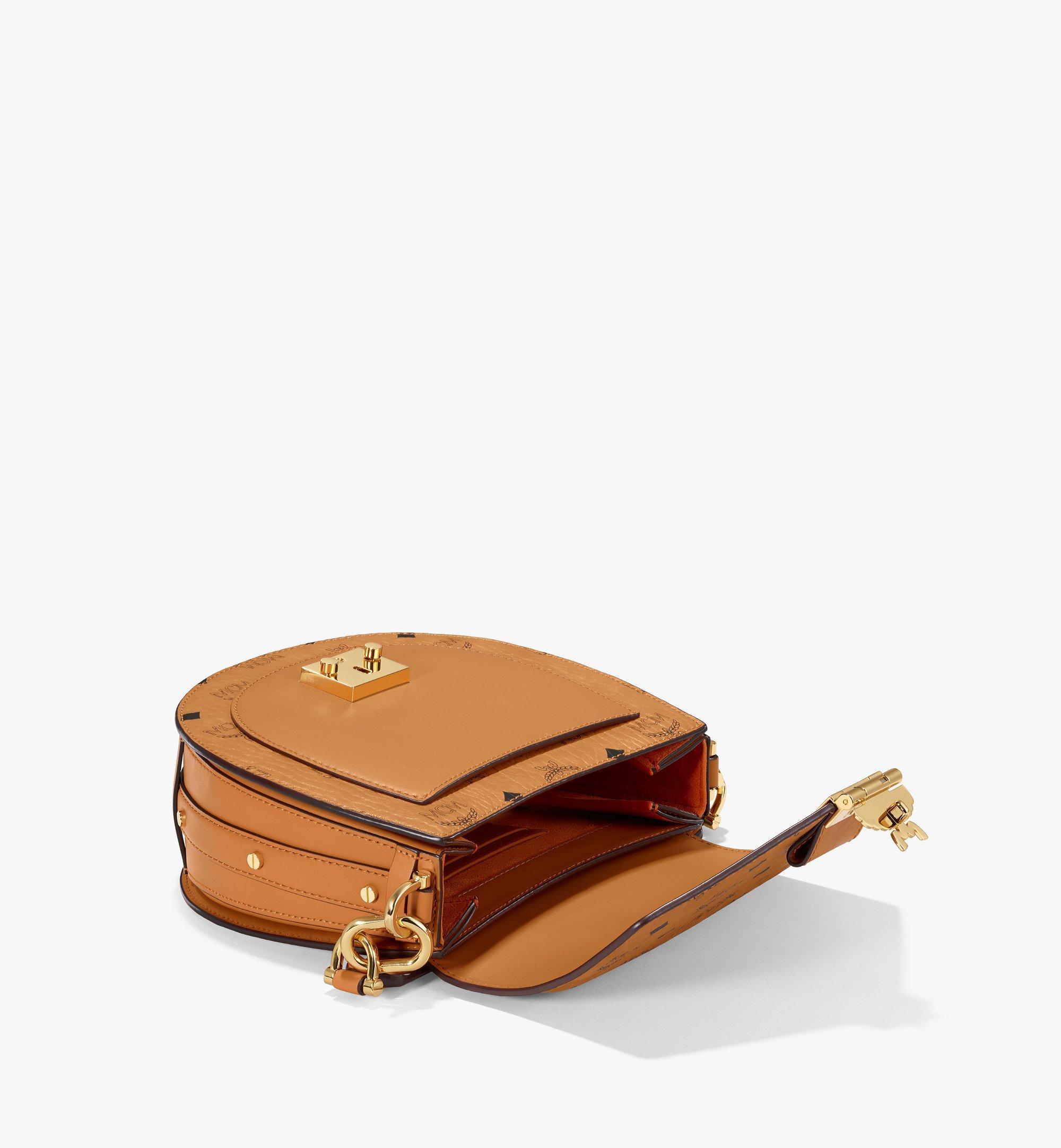 MCM Patricia Shoulder Bag in Visetos Cognac MWSAAPA01CO001 Alternate View 2
