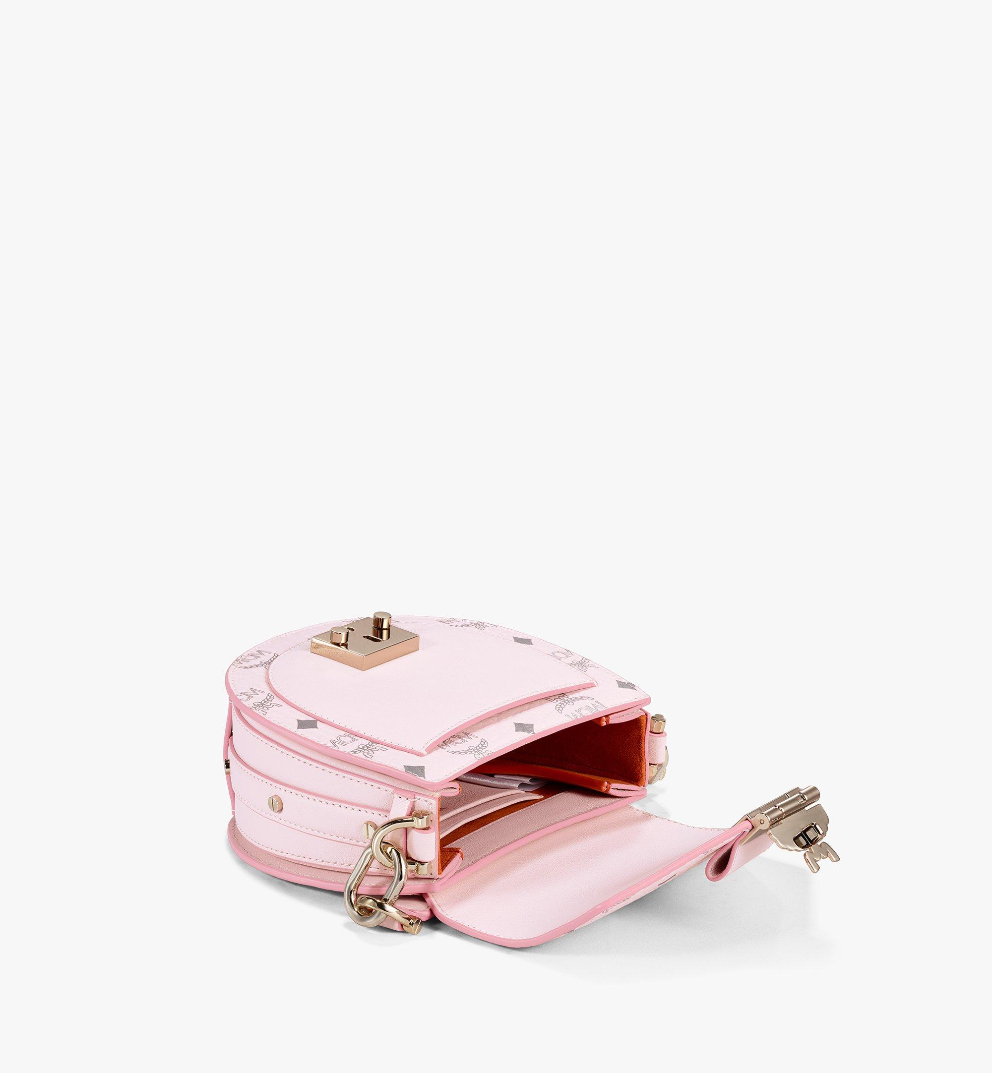 MCM Patricia Shoulder Bag in Visetos Pink MWSAAPA02QH001 Alternate View 3