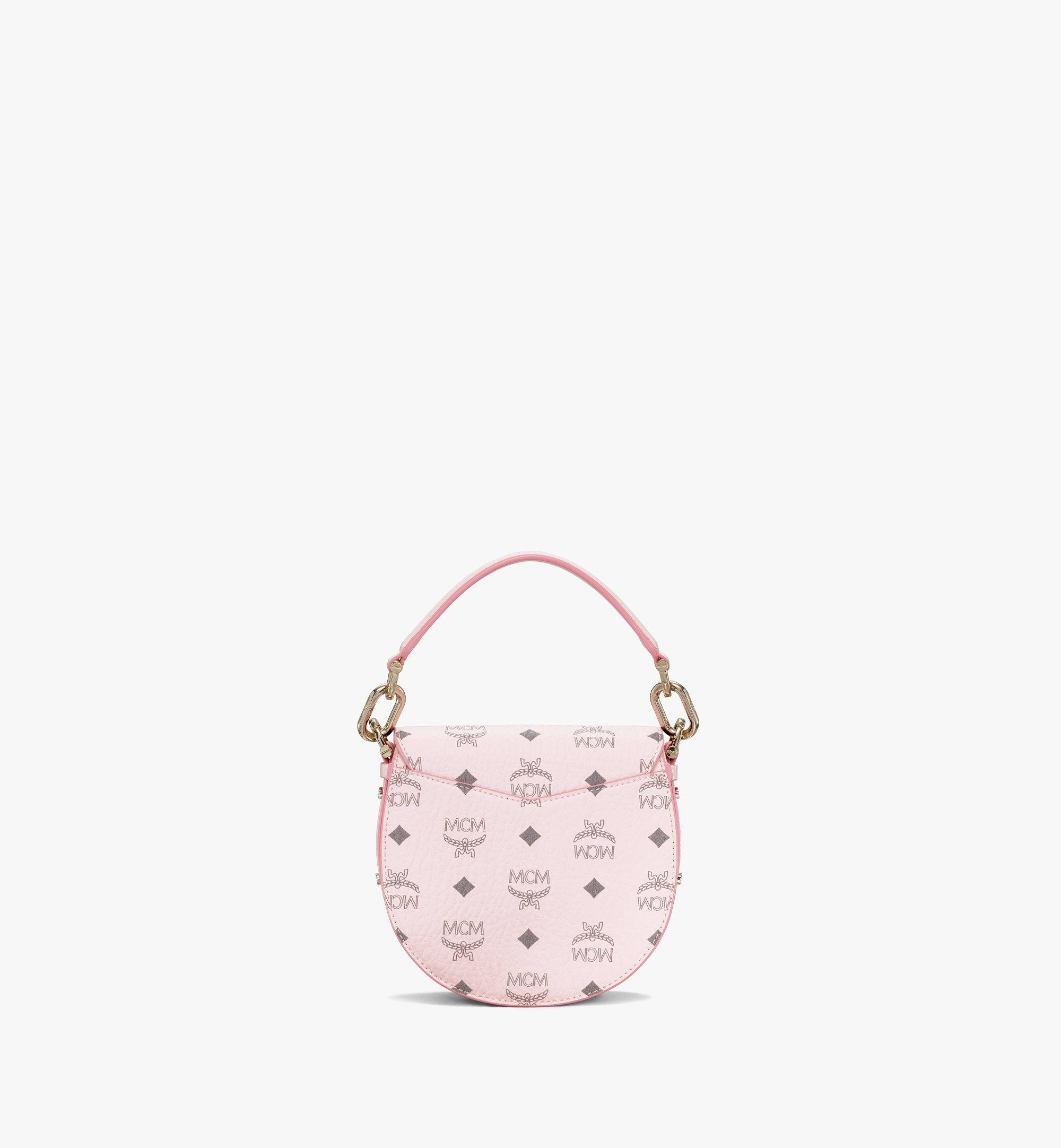 MCM Patricia Shoulder Bag in Visetos Pink MWSAAPA02QH001 Alternate View 4