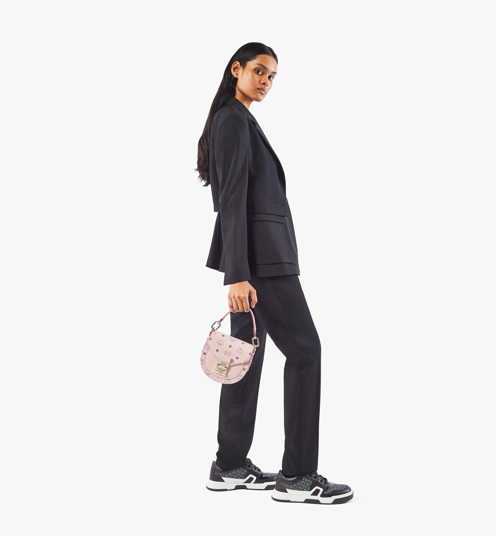 MCM Patricia Shoulder Bag in Visetos Pink MWSAAPA02QH001 Alternate View 4
