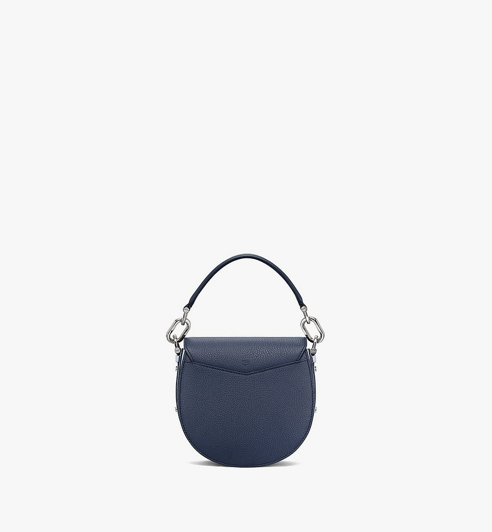 MCM Patricia Shoulder Bag in Color Block Visetos Blue MWSAAPA08VW001 Alternate View 3