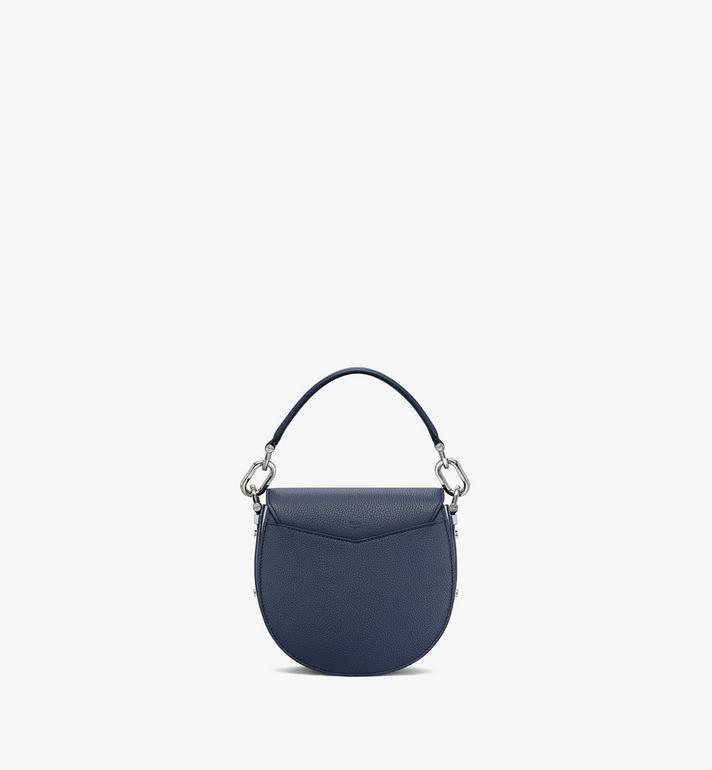 MCM Patricia Shoulder Bag in Color Block Visetos Blue MWSAAPA08VW001 Alternate View 4